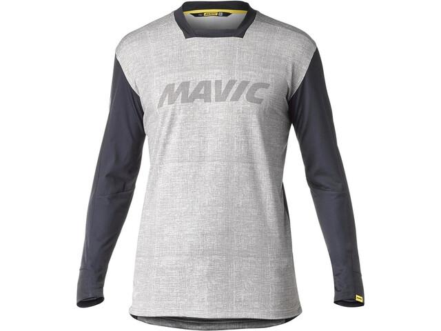Mavic Deemax Pro LS Jersey Herren moon mist/black